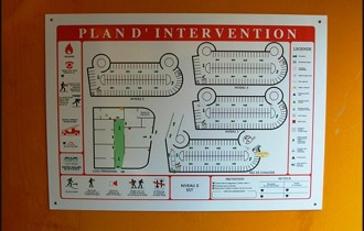 Plan d'évacuation - Devis sur Techni-Contact.com - 1