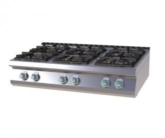 Plan de cuisson Gaz - Version top - Devis sur Techni-Contact.com - 2