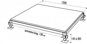 Plancher de bal modulable - Devis sur Techni-Contact.com - 2