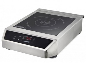 Plaque à induction tactile en acier inox - Devis sur Techni-Contact.com - 1