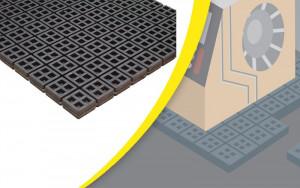 Plaque antivibratoire sécable - Devis sur Techni-Contact.com - 2