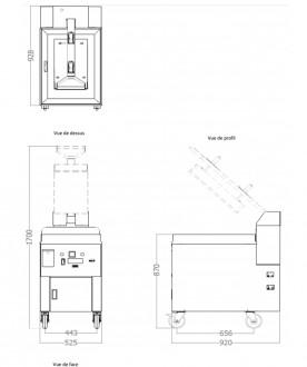 Plaque avec presse intégrée en acier - Devis sur Techni-Contact.com - 2