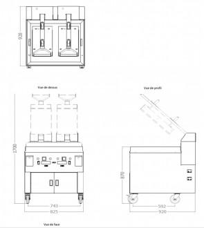 Plaque avec presse intégrée en acier - Devis sur Techni-Contact.com - 4