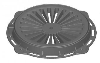 Plaque d'égout ronde à grille concave D 400 - Devis sur Techni-Contact.com - 1