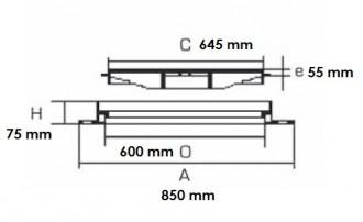 Plaque d'égout ronde PMR à grille C 250 - Devis sur Techni-Contact.com - 2