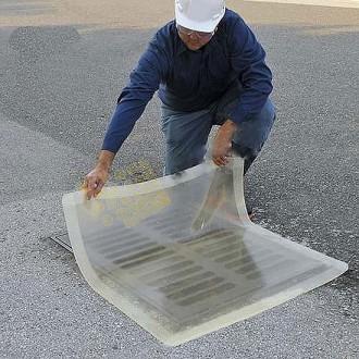Plaque d'obturation transparente - Devis sur Techni-Contact.com - 1