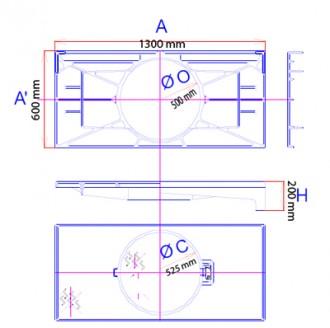 Plaque de recouvrement articulée C 250 - Devis sur Techni-Contact.com - 2