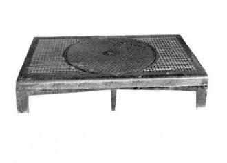 Plaque de recouvrement articulée en fonte ductile C 250 - Devis sur Techni-Contact.com - 1