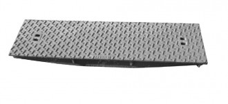 Plaque de recouvrement caniveau en fonte C 250 - Devis sur Techni-Contact.com - 1