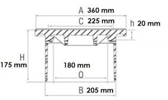 Plaque de recouvrement en fonte B 125 - Devis sur Techni-Contact.com - 2