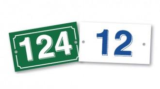 Plaques numéros de maison - Devis sur Techni-Contact.com - 1