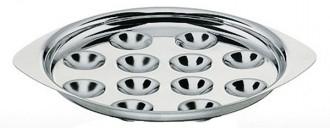 Plat à escargot Inox 12 places - Devis sur Techni-Contact.com - 1
