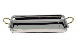 Plat en inox pour cuisine 40 x 28 - Devis sur Techni-Contact.com - 1