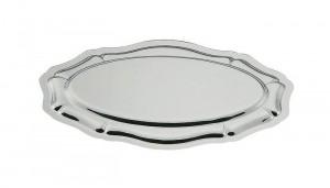 Plat poisson ovale 'Louis XV' en inox - Devis sur Techni-Contact.com - 1