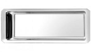 Plat vitrine pans coupé 42x18x3 cm - Devis sur Techni-Contact.com - 1