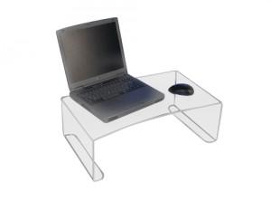 Plateau d'ordinateur en plexiglas - Devis sur Techni-Contact.com - 1