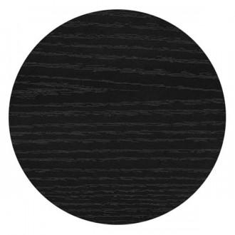 Plateau de table rond mélaminé noir - Devis sur Techni-Contact.com - 1