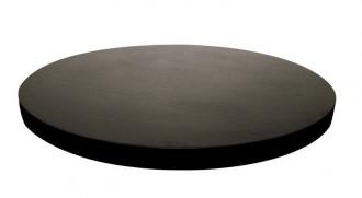 Plateau de table rond mélaminé noir - Devis sur Techni-Contact.com - 2