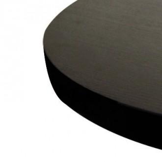 Plateau de table rond mélaminé noir - Devis sur Techni-Contact.com - 3
