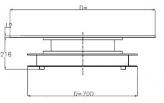 Plateau industriel tournant - Devis sur Techni-Contact.com - 2