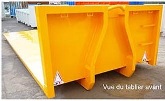 Plateau polybenne amovible - Devis sur Techni-Contact.com - 2