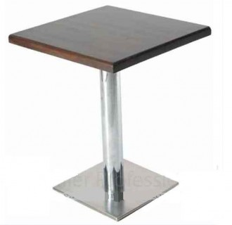 Plateau table en bois massif pour café - Devis sur Techni-Contact.com - 1