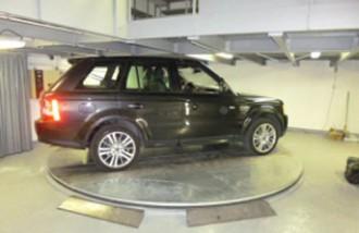 Plateau tournant d'exposition automobile - Devis sur Techni-Contact.com - 2