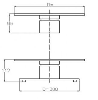 Plateau tournant industriel - Devis sur Techni-Contact.com - 2