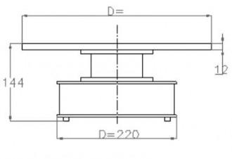 Plateau tournant rotatif - Devis sur Techni-Contact.com - 2