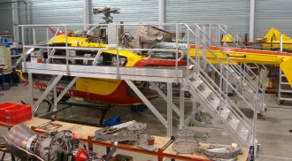 Plateforme de maintenance hélicoptère civile - Devis sur Techni-Contact.com - 1