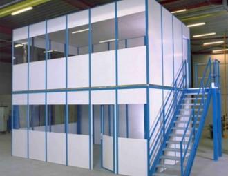 Plateforme de stockage avec bureaux - Devis sur Techni-Contact.com - 2