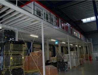 Plateforme de stockage avec bureaux - Devis sur Techni-Contact.com - 3