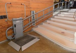 Plateforme inclinée pour escalier droit - Devis sur Techni-Contact.com - 5
