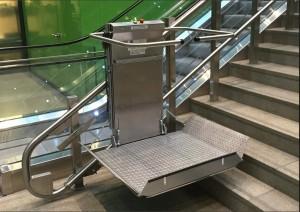 Plateforme inclinée pour escalier droit - Devis sur Techni-Contact.com - 6