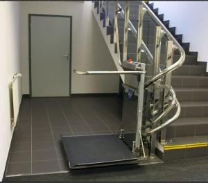Plateforme inclinée pour escalier droit - Devis sur Techni-Contact.com - 8