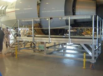 Plateforme maintenance moteur aéronautique - Devis sur Techni-Contact.com - 1