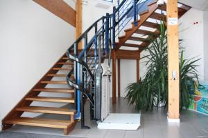 Plateforme monte-escalier - Devis sur Techni-Contact.com - 1
