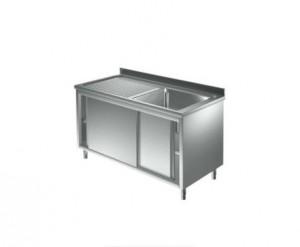 Plonge inox sur meuble  900mm de hauteur  - Devis sur Techni-Contact.com - 1