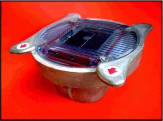 Plot lumineux solaire à encastrer - Devis sur Techni-Contact.com - 1