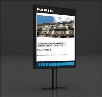 Plv dynamique avec logiciel de création de contenu - Devis sur Techni-Contact.com - 1