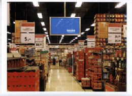 PLV dynamique centre commercial - Devis sur Techni-Contact.com - 1