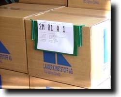 Pochette à crochets de signalétique d'entrepôt - Devis sur Techni-Contact.com - 3