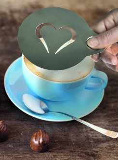 Pochoir café en inox - Devis sur Techni-Contact.com - 6