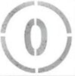 Pochoir chiffre de 0 à 20 pour marquage - Devis sur Techni-Contact.com - 1