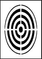 Pochoir cible pour marquage - Devis sur Techni-Contact.com - 1