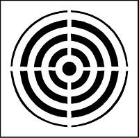 Pochoir cible pour marquage - Devis sur Techni-Contact.com - 2