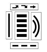 Pochoir pour marquage jeux - Devis sur Techni-Contact.com - 1