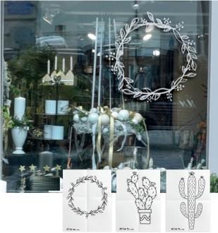 Pochoir pour vitrine - Devis sur Techni-Contact.com - 2