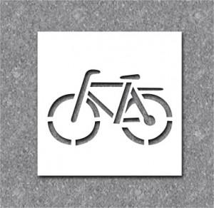 Pochoir vélo pour marquage - Devis sur Techni-Contact.com - 1