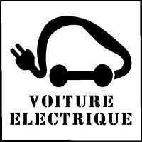 Pochoir voiture électrique pour marquage - Devis sur Techni-Contact.com - 3